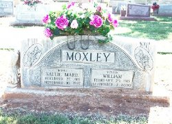 "Sallie Marie ""Bobbie"" <I>Fort</I> Moxley"