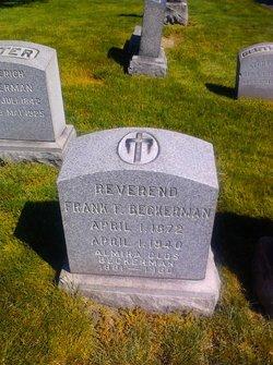 Rev Frank F. Beckerman