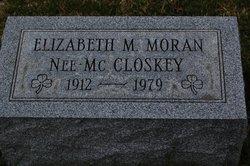 "Elizabeth Marie ""Betty"" <I>McCloskey</I> Moran"