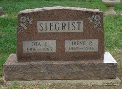 Irene R <I>Abbott</I> Siegrist