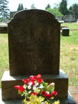Cora Elizabeth <I>Vogler</I> Blackburn