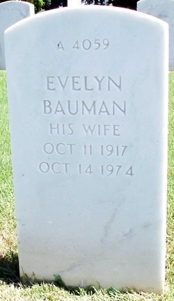 Evelyn Minerva <I>Gilbert</I> Bauman