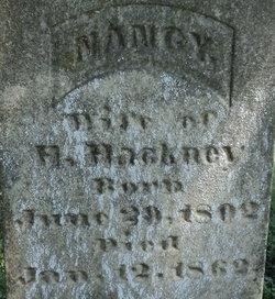 Nancy <I>Brown</I> Hackney