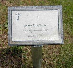 Jessie Rae Snider