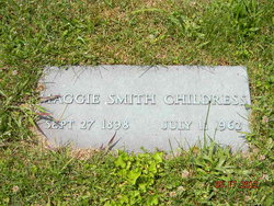 Maggie Elsie <I>Smith</I> Childress