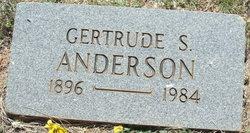 Gertrude S. Anderson