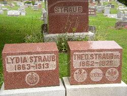 Lydia E. <I>Schaan</I> Straub