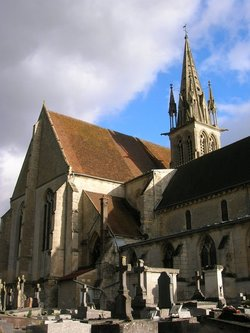 Crepy en Valois Saint Denis Church