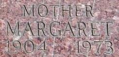 Margaret M <I>McGettigan</I> Diederich