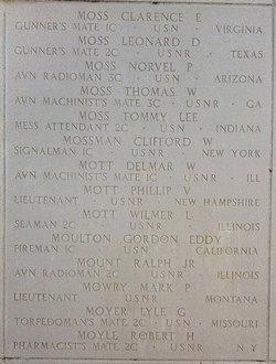 Lt Phillip Vaughen Mott