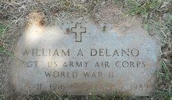 William A Delano