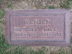 Gina Erickson <I>Ericksen</I> Hansen