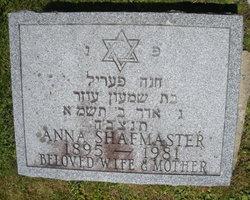 Anna Shafmaster