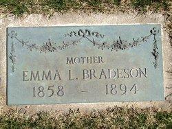 Emma Louisa <I>Wilson</I> Bradeson