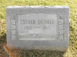 Esther <I>Rothrock</I> Dunkle