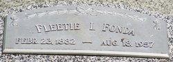 Fleetie I. <I>Lingle</I> Fonda