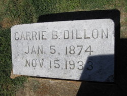 Carrie Brown <I>Cummings</I> Dillon