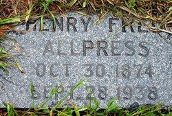 Henry Fred Allpress