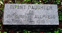 Infant Daughter Allpress
