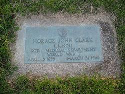 Horace J Clark