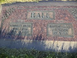 Martha Ann <I>Mills</I> Hall