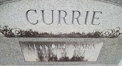 Frances Mara Currie