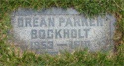 """Orean Kittle """"Ora"""" <I>Parker</I> Bockholt"""