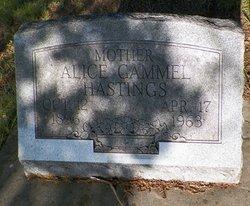 Alice <I>Gammel</I> Hastings