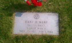 """Earl Daniel """"Bud"""" Wert"""