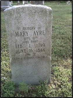 Mary <I>Caldwell</I> Ayre