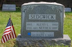 Nettie V. <I>Sharp</I> Sedgwick