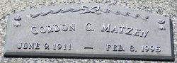 """Gordon """"Good"""" Matzen"""