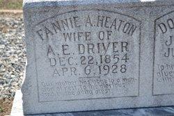 """Martha Frances Ann """"Fannie"""" <I>Heaton</I> Driver"""
