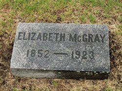 Elizabeth <I>Brackin</I> McGray