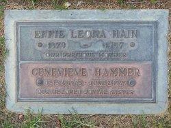 Effie Leona <I>Parker</I> Hain