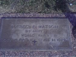 Alfred F Matson