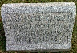 Rosa A <I>Greenwalt</I> Sechler