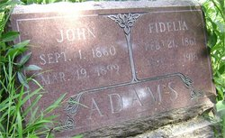 Fidelia <I>Dutton</I> Adams