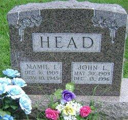 Mamie Irene <I>Mosbey</I> Head
