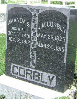 """Amanda Sarah """"Manda"""" <I>Joseph</I> Corbly"""