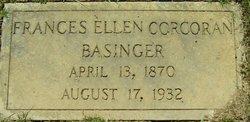 Frances Ellen <I>Corcoran</I> Basinger