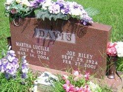 Martha Lucille <I>Andeway</I> Davis