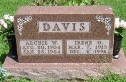 """Arthur William """"Archie"""" Davis"""