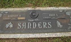 Earnest A Sanders