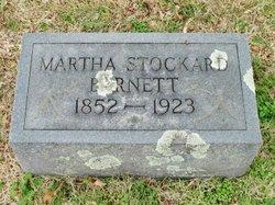 Martha <I>Stockard</I> Barnett