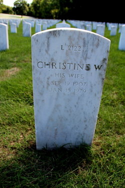 Rev Christine Margaret <I>Williams</I> Bowers