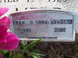 Frank D Shreckengost