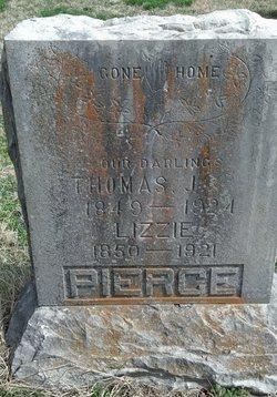 "Martha Elizabeth ""Lizzie"" <I>Scroggins</I> Pierce"