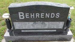 Bertha Minerva <I>Kibbe</I> Behrends