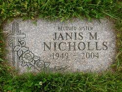Janis M Nicholls